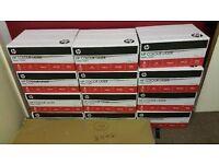12x HP A3 plain white paper boxes - 120g