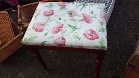 footstool good condition only £7.00