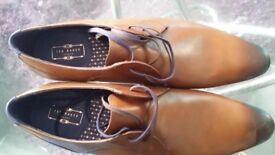 TED BAKER size 14/15 mens lace-up/dress shoes