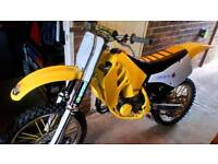 Suzuki rm 125 1990 Motocross bike