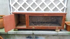 Outdoor rabbits cage