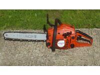 Hitachi/tanaka Japanese petrol chainsaw cost £400