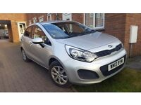 2013 kia Rio 1 air silver 1.2 manual low miles 1 p owner