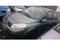 2004 RENAULT SCENIC, 1.6 PETROL, BREAKING FOR PARTS ONLY, POSTAGE AVAILABLE NATIONWIDE