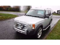 """LAND ROVER DISCOVERY,2.7 3 TDV6 SE,7 Seater,2007,Sat Nav,Privacy Glass,22""""Alloys,Air Con,F.S.H"""