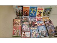 20 kids dvd's with cases ... only £3