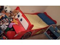 boys toddler cars bed with matress