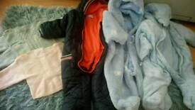 Baby snow suit, blanket, toys,lady boots,child Trainers, outfit baby