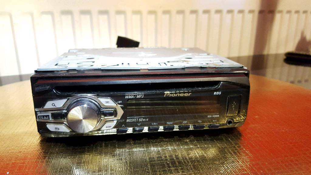 Pioneer DEH-1400UB Car Stereo Front USB/AUX CD/MP3 | in Bradford, West  Yorkshire | Gumtree