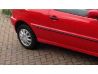Vw polo steel wheels with tyres