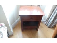Small Solid Wood Side table - Very Good Condition
