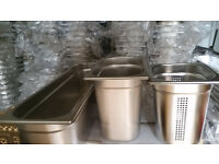 Food, Catering, Stainless steel Gastronorm Containers