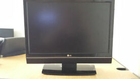 LG TV (good condition) + full house clearance