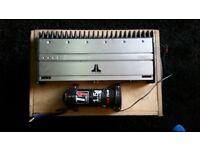Jl audio 1000/1 amp
