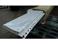 New 50 Plastic white 12mm beadings for ceramic tiling