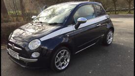 Fiat 500, Rare Twin Air Sport, New MOT, New Tyres, Just serviced, FFSH