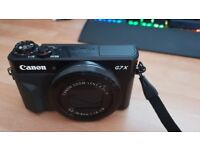 Canon G7X Mark II 4months old.