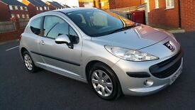 2007 Peugeot 207 s Face Lift Full service history Low Miles Mint Condition LOOK!