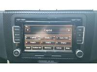 VOLKSWAGEN RCD510 RADIO CD TIM SD for GOLF, PASSAT, TIGUAN, SHARAN, JETTA