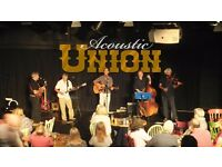 ACOUSTIC UNION need a replacement BASS PLAYER