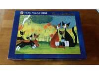 Heye 2000 piece jigsaw