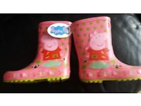 Brand New Peppa Pig Wellington Boots