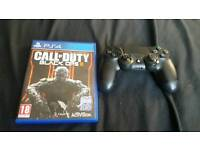 Black ops 3 and PS4 controller