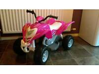 Kids Pink quad 6v £129 new