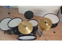 Rocket DKJ02RD 5 Piece Junior Drum Kit