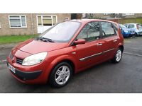 1.6 renault scenic petrol 88000 miles mot 6/1/18 history 3month warranty drives really good like new