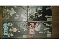 Marvel Comics Northstar Collection 1-4 1994