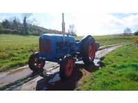Fordson Major Tractor (not massey ferguson, international, david brown, vintage)