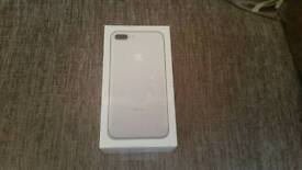Brand New Sealed iPhone 7 Plus 264GB Silver (Factory Unlocked)
