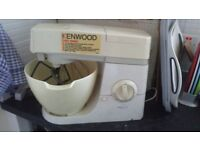 Kenwood chef food mixer km201 with attachments