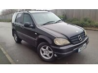 Mercedes ML 270 cdi Automatic spares or repairs