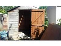 Garden shed approx 7x 9 approx
