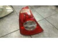 2002 RENAULT CLIO TAIL STOP LIGHT PASSENGER NEAR SIDE REAR COMPLETE