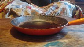 Le Creuset vintage cast iron frying pan