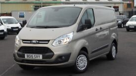 STUNNING 2015 FORD TRANSIT 290 CUSTOM TREND EDITION 125 BHP. EVRY OPTION FITTED. ONLY 28000 MILES.
