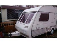 2 Berth Caravan Spares or Repair 1995 Sterling Europa 450es