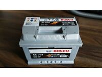 Bosch s5 004 car battery vw ford audi vauxhall new
