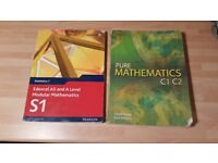 Edexcel AS / A Level Maths and Pure Maths Books for sale  Surrey