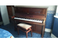 Challen Upright Piano + stool