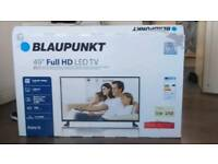 "Blaupunkt 49"" full 1080p hd led tv"