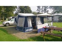 Camplet Concorde SE Trailer Tent with lots of extra's. sleeps 6 comfortably