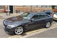 BMW 5 Series 3.0 530d M Sport 2011 Diesel 8-Speed Auto Gears 19 INCH ALLOYS WIDE SCREEN FSH £12,900
