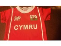 Baby welsh wales rugby shirt 0-6 months
