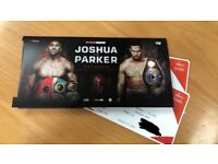 Anthony Joshua vs Joseph Parker Tickets