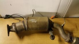 2011 AUDI 2.0 TDI DIESEL PARTICULATE FILTER DPF (CAHA ENGINE) (WITH CENTERPIPE)