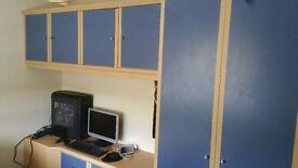 fitted bedroom furniture set